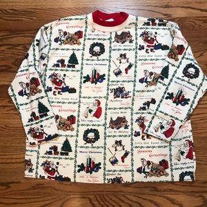 Vintage Christmas Sweatshirt, Holiday Sweatshirt